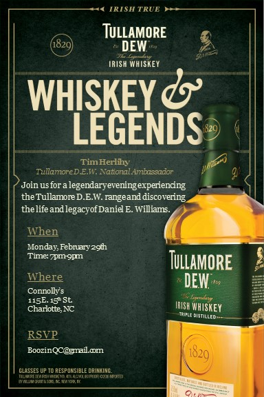 Tully Whiskey  Legends - Charlotte
